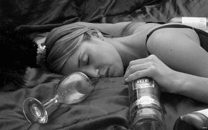 Алкоголь на самоті